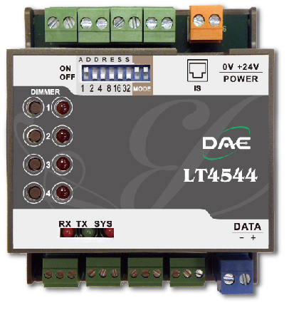 LT4544 Authorizing Dimmer Controller